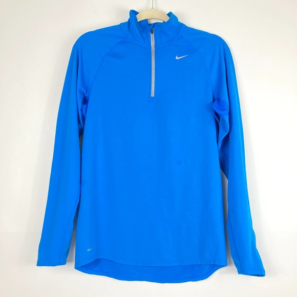 Nike Running Dri-Fit Quarter Zip Sweatshirt Sz S
